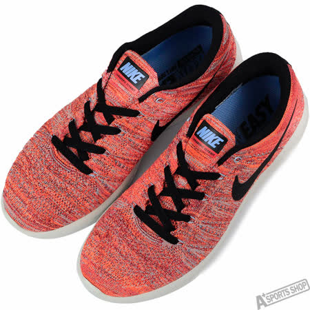 NIKE 男 NIKE LUNAREPIC LOW FLYKNIT 慢跑鞋 紅 -843764800