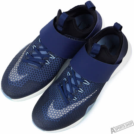 NIKE 女 WMNS NIKE AIR ZOOM STRONG 慢跑鞋 藍 -843975401
