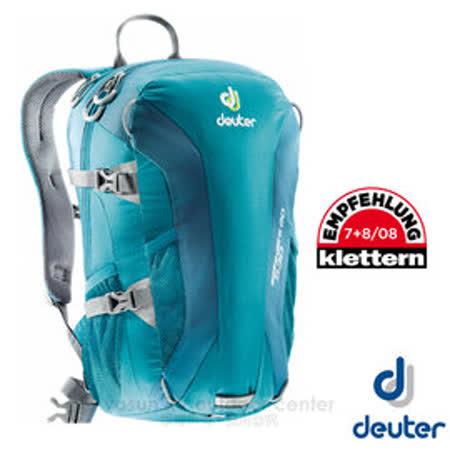 【德國 Deuter】Speed Lite 20L 輕量級透氣健行登山背包 33121 綠/藍綠