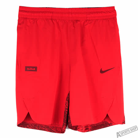 NIKE 男 AS LBJ M NK HPRELT SHORT 短褲 紅 -800120657