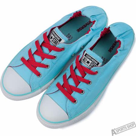 converse 女 Chuck Taylor All Star 低筒 帆布鞋 藍 -647700C