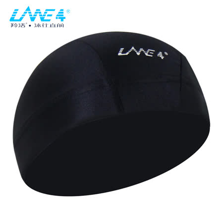 LANE4羚活萊卡舒適彈性泳帽-男用