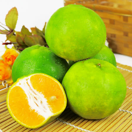 【果之家】嘉義當季爆汁酸甜綠皮椪柑5台斤
