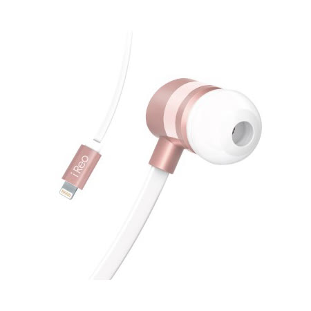 iReo-Apple認證 8 pin lightning高解析24bit數位耳機(iphone/ipad/ipod專用)