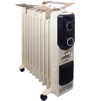 德國HELLER嘉儀12葉片式電暖器KE212TF