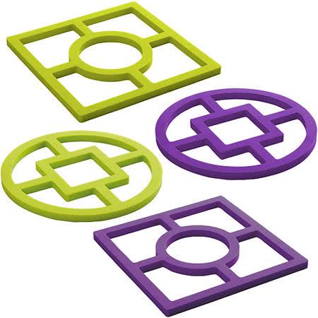 《IBILI》Eco幾何矽膠隔熱墊