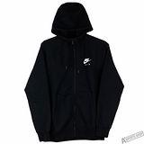 NIKE 男 AS M NSW HOODIE FZ FLC AIR HTG 外套 黑 -809057010