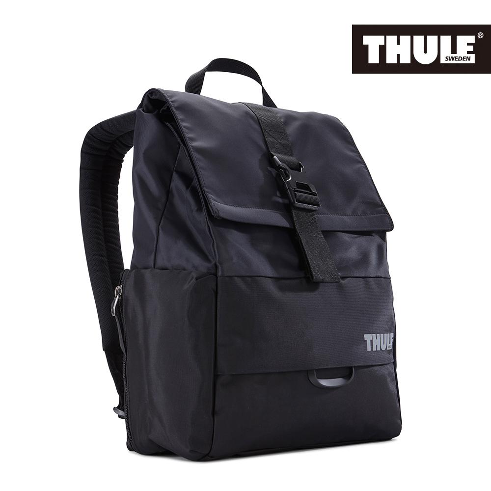 THULE 都樂~Daypack多 13吋電腦雙肩後背包TDSB~113~黑^(忠欣 貨^
