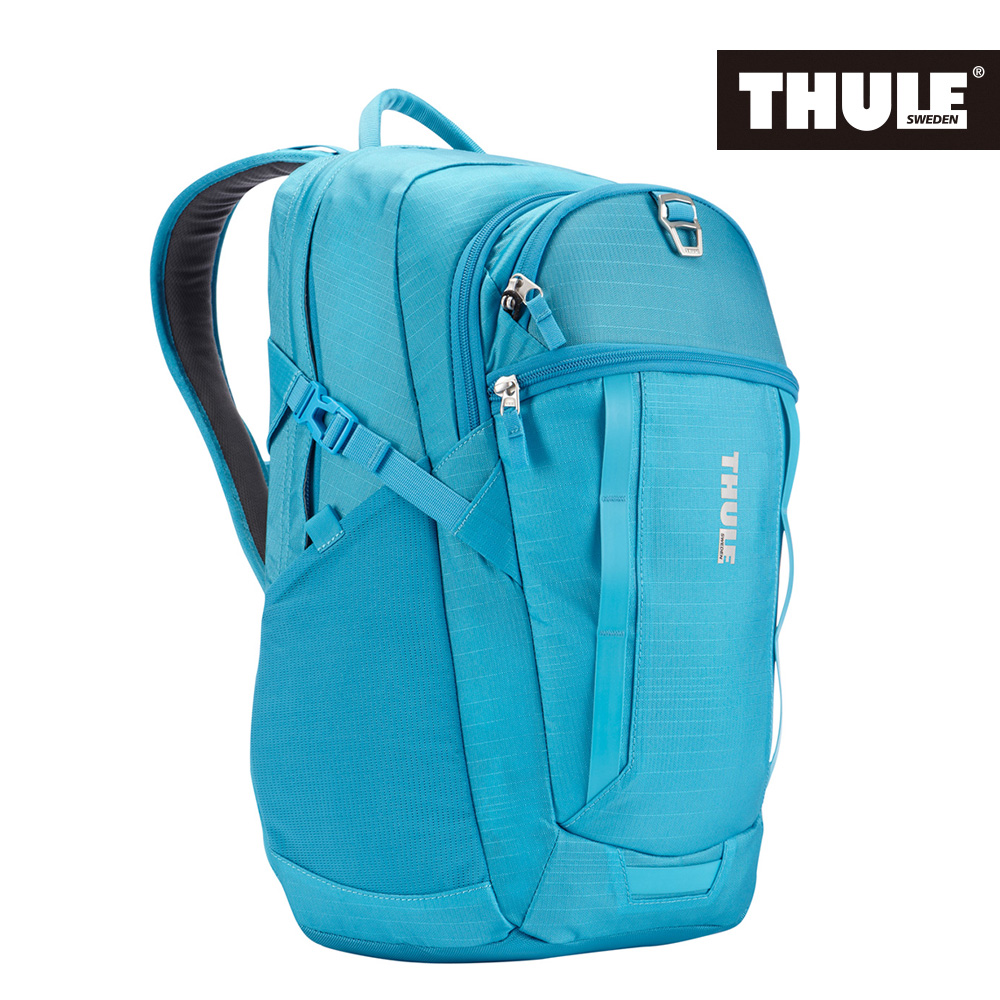 THULE 都樂~EnRoute Blur多 17吋雙肩後背包TEBD~117~藍^(忠欣