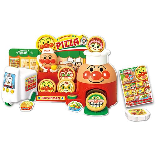 《 麵包超人 》ANP披薩外送玩具
