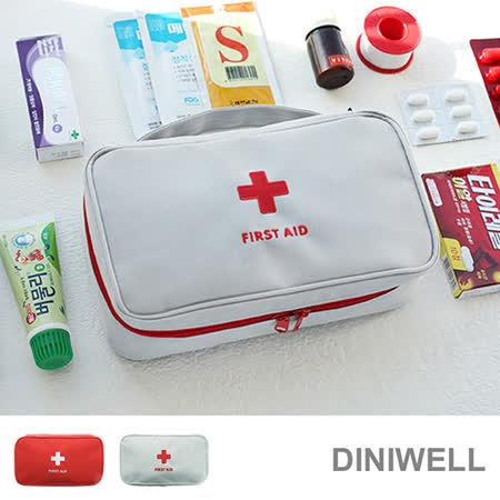 【韓版】DINIWELL大容量多功能防水急救包/醫藥包
