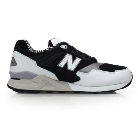 (男) NEWBALANCE 878系列 復古鞋-運動 休閒 NB N字鞋 黑白銀