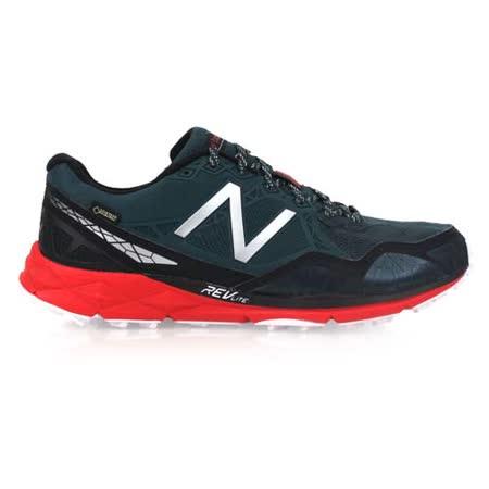 (男) NEWBALANCE 910系列 越野慢跑鞋-2E-NB N字鞋 軍綠紅