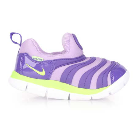(童) NIKE DYNAMO FREE-TD男女兒毛毛蟲鞋-小 鞋 紫螢光綠