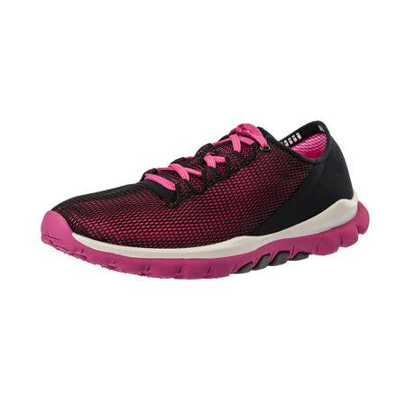 【Kimo德國手工氣墊鞋】網布綁帶彈性輕質舒適平底休閒鞋(活力粉K16WF078107)
