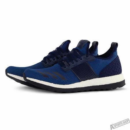 adidas 男 PUREBOOST ZG M 慢跑鞋 愛迪達 藍 -AQ3359