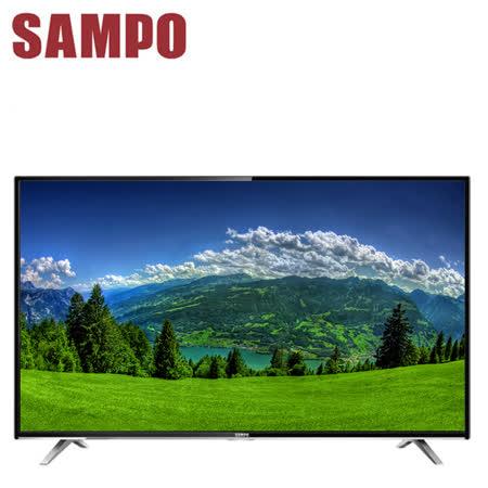 [促銷] SAMPO聲寶 43吋低藍光顯示器+視訊盒(EM-43DT16D)送基本安裝+上網接收器(EMAD10)