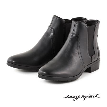 【好物推薦】gohappy 線上快樂購Easy Spirit--素雅低跟短靴--雅致黑評價漢 神