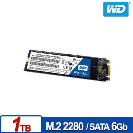 WD SSD 1TB M.2 2280 SATA 固態硬碟(藍標)
