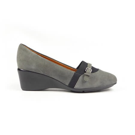 GEOX-D NEW TAYLOR C 仕女鞋 羊皮 灰色