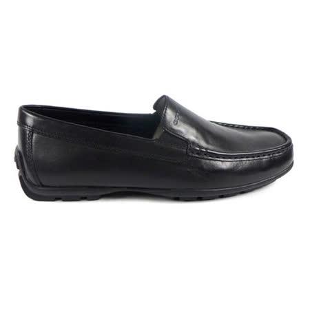 GEOX-U W.MONET Q 休閒鞋 牛皮 黑色