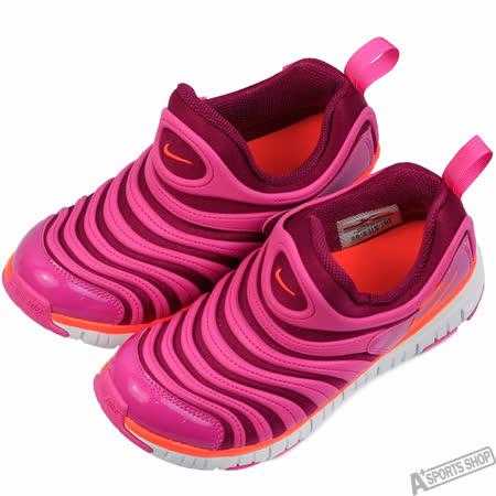 NIKE 童 DYNAMO FREE PS 復古鞋 粉 -343738504