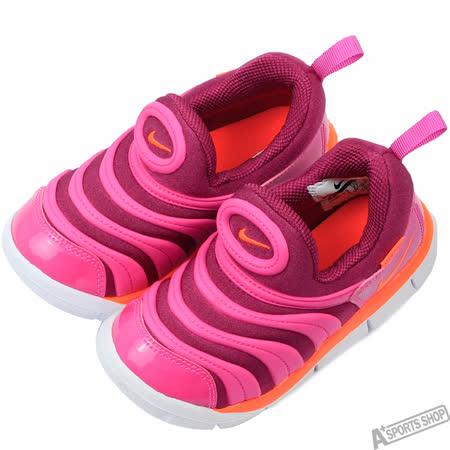 NIKE 童 DYNAMO FREE TD 復古鞋 粉 -343938504