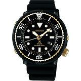 SEIKO 精工 Prospex SCUBA 鮪魚罐頭太陽能 腕錶 V147-0BB0SD SBDN028J