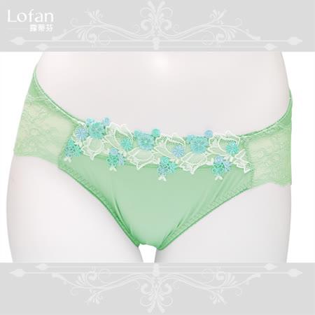 【Lofan露蒂芬】梅春 美臀刺繡小褲 M.L.LL-綠 (VS2041-GRQ)