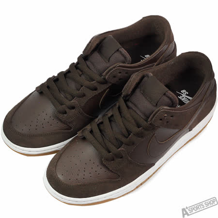 NIKE 男 DUNK LOW PRO IW 滑板鞋 棕 -819674221