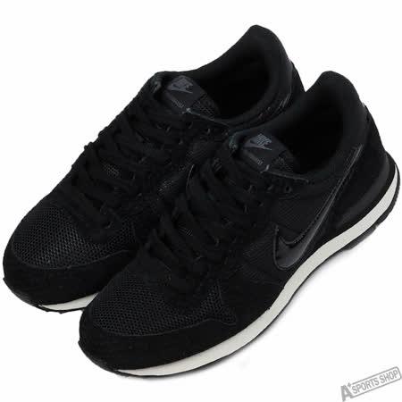NIKE 女 W INTERNATIONALIST 復古鞋 黑 -828407003