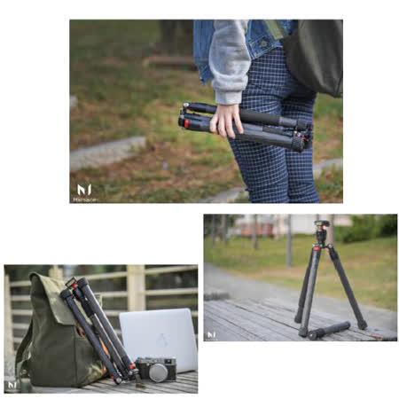 Marsace 瑪瑟士 C15i 碳纖維 反折 旅遊 腳架(公司貨)