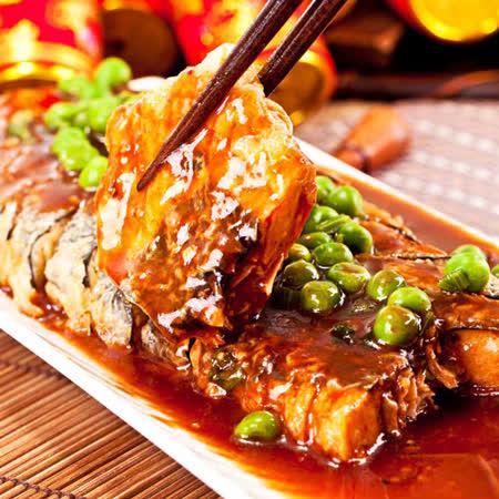 三低素食年菜 樂活e棧 年年有餘-珍饌糖醋魚(400g/盒,共3盒)