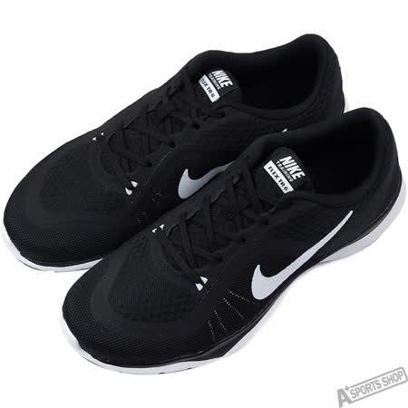 NIKE 女 FLEX TRAINER 6 慢跑鞋 黑 -831217001