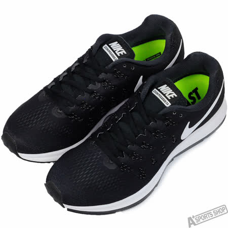 NIKE 男 AIR ZOOM PEGASUS 33 慢跑鞋 黑 -831352001