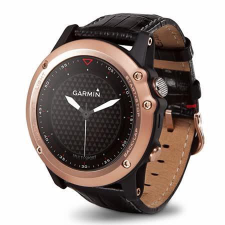 GARMIN fenix 3 全能戶外運動GPS腕錶【玫瑰金款】原廠公司貨 送Virb 泛用型攝影機