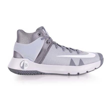 (男) NIKE KD TREY 5 IV EP 籃球鞋-杜蘭特 高筒 灰白