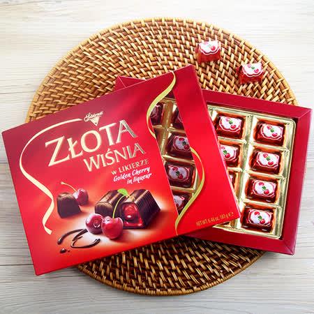 波蘭華麗 櫻桃酒巧克力禮盒183g