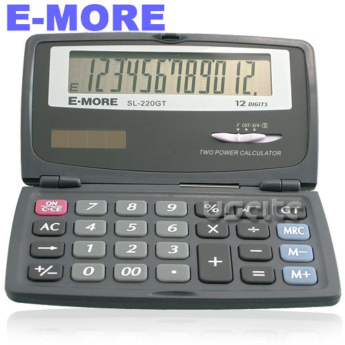 【E-MORE】國家考試專用口袋型計算機 SL-220GT