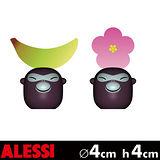 ALESSI 香蕉寶寶 手繪名片架 (香蕉+花)