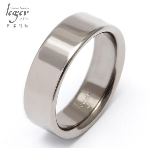 Leger 羽鈦~純真年代~純鈦戒指