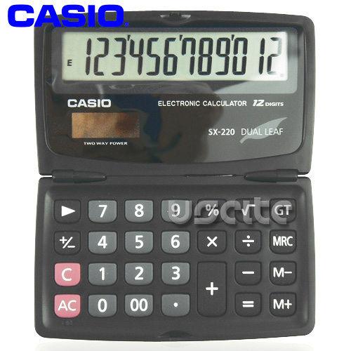 【CASIO】攜帶式8位商用計算機SL-200TE