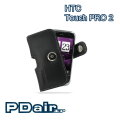 HTC Touch PRO 2 T7373 專用PDair高質感腰掛橫式PDA手機皮套