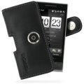 HTC Touch Diamond 2 T5353 專用PDair高質感腰掛橫式PDA手機皮套