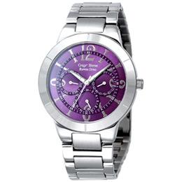 Roven Dino羅梵迪諾 仲夏夜三眼視窗腕錶(紫色)