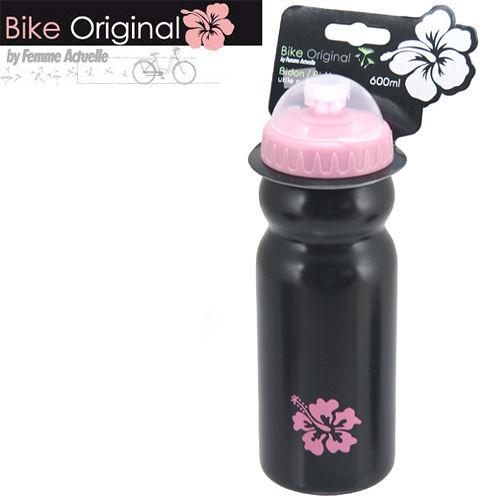 Bike Original LDPE扶桑花系列水壺600mlØ74mm