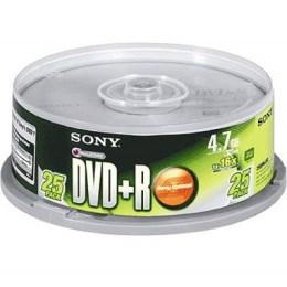 SONY DVD+R 16X燒錄片 (25片)