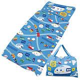 【享夢城堡】新幹線 鐵道樂園系列-舖棉兩用兒童睡袋