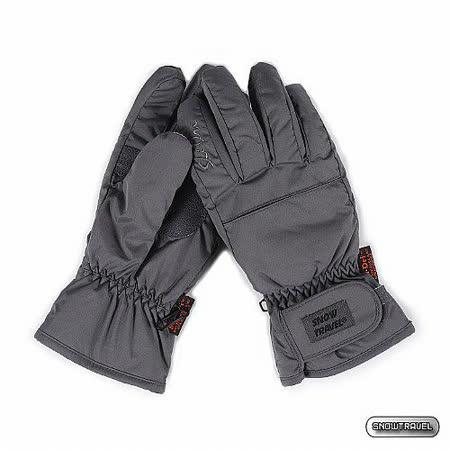 [SNOW TRAVEL] PORELLE 防水透氣超薄型手套 (灰色)