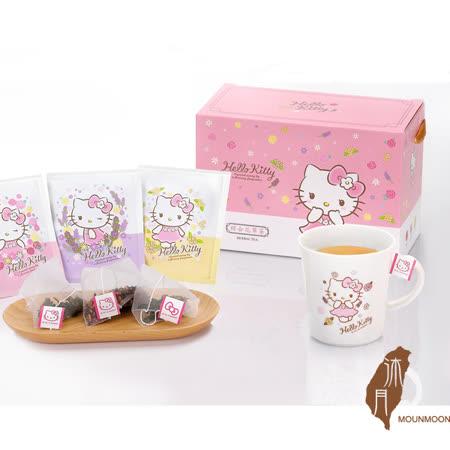 沐月- Hello kitty 綜合花草茶禮盒